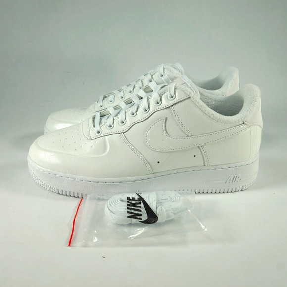 Nike Air Force 1 PRM Low ID White NWT